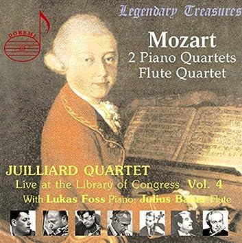 Juilliard Quartet, Vol. 4: Live at Library of Congress – Mozart Quartets