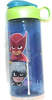 Zak! PJ Masks PJMJ-T070 Designs BPA Free 16.5 oz Boys & Girls Licensed Character Cold Water Bottles -Carry Loop & Snap Lid