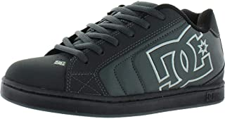 DC Shoes Men's Net Low Top Sneaker Shoes Black Blue