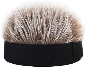 hellomagic 10 Pieces Unisex Metal Headbands/Spring Hair Hoop Slicked Back Hair Bands Wavy Headband Nonslip Hairband for Women Men Outdoor Sports