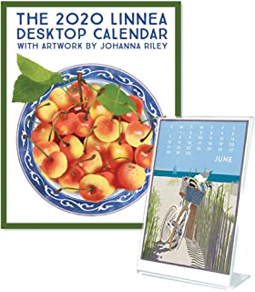 Linnea Design 2020 Desktop Calendar and Frame Gift Set