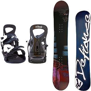 DEFIANCE メンズ スノーボード2点セット スノボー+バインディング INDEPENDENCE