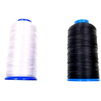 JZK 2 x Hilo de Coser de Nylon Para Máquinas de Coser Costura (1 ...