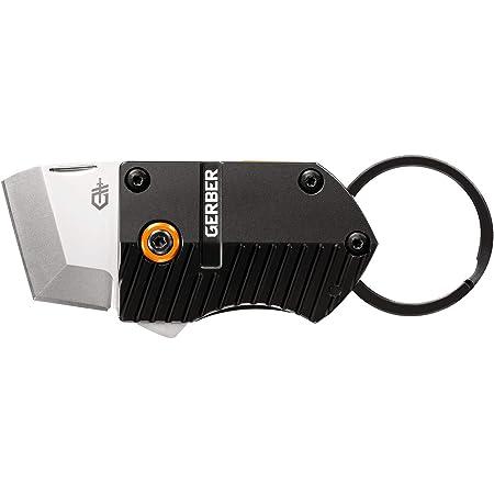Gerber Gear 30-001691 Key Note Compact Keychain Knife, 1 Inch blade, Black