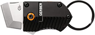Gerber Key Note, Compact Fine Edge Scraping & Cutting Knife, Black [30-001691]