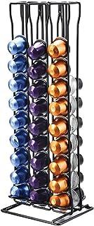 Support à capsules à café Nespresso - Peut contenir 60 capsules. Ligne originale, fini chrome stable et élégant. Pour les ...