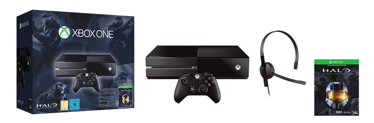 Xbox One - Consola 500 GB + Pack Halo: The Master Chief Collection ...