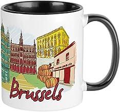 Brussel België Unieke Koffiemok, Koffiebeker