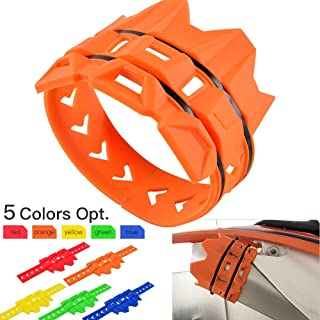 D-Modern- Motorcycle Exhaust Muffler Pipe Protector Heat Shield Cover Guard For Ktm Sx Sxf Exc Excf Xc Xcw Xcfw 85 125 150 250 350 450 530 (Orange)
