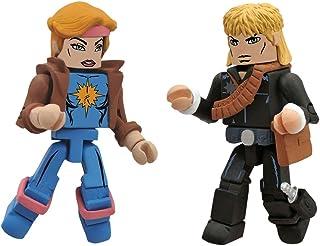 DIAMOND SELECT TOYS Marvel Minimates Series 47 X-Men vs. Brood Longshot and Dazzler, 2-Pack
