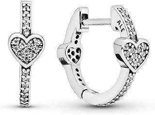 comprar comparacion Pandora Pendientes de aro Mujer plata - 297290CZ
