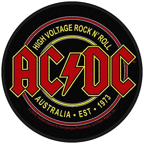 """AC/DC ACDC High Voltage Rock & Roll"" Parche para coser."