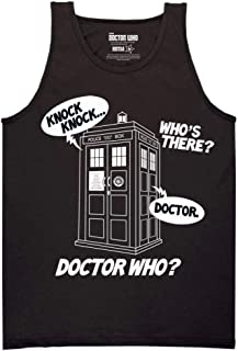 Ripple Junction Doctor Who Knock Knock Doctor Who Adult Tank