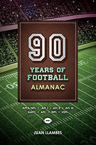 90 Years of Football Almanac (English Edition)