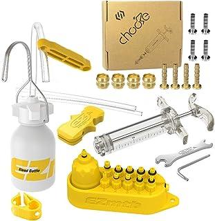 Kit para Cambio de Aceite Mineral Frenos de Disco hidr/áulico para Bicicleta GOTOTOP Kit de Escape de Freno Kit para el purgo de los Frenos de la Bicicleta