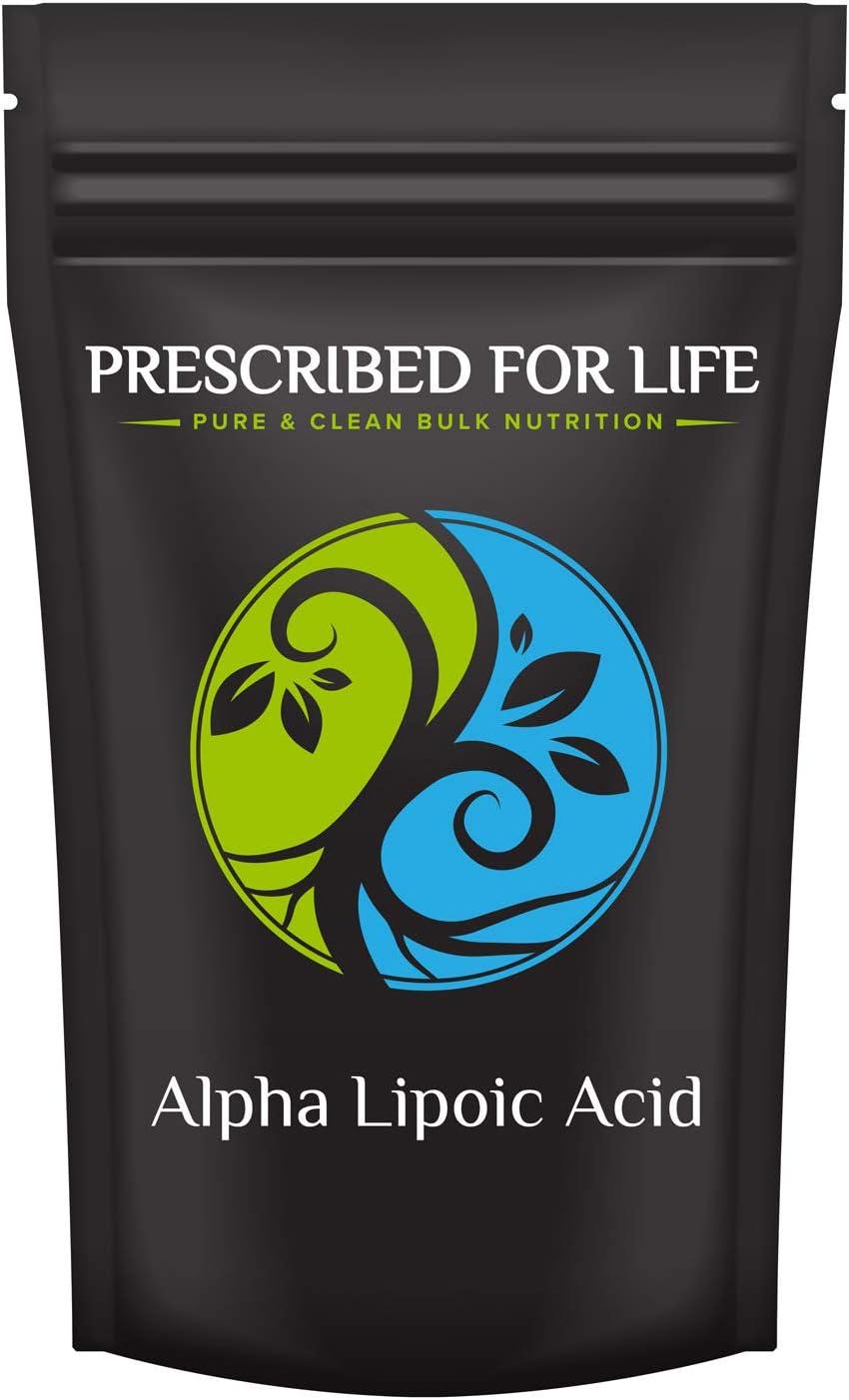 Prescribed for Life Cheap mail order sales Alpha Lipoic Acid 100% wholesale Natural Powder - Pure