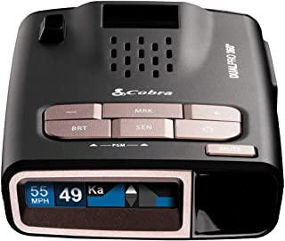 Cobra DualPro 360° Radar Detector by Creators of Escort Radar - Long Range, iRadar App, Front & Rear Advanced Sensors, Dir...