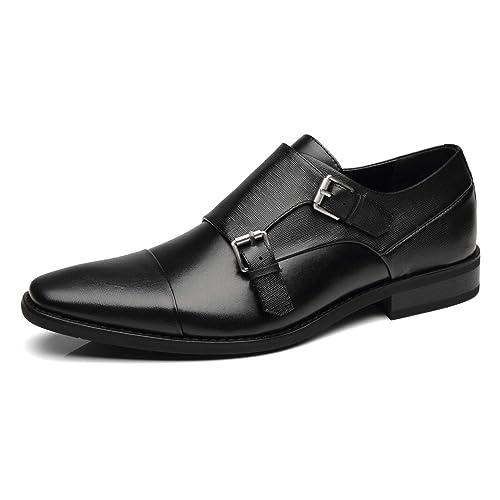 b72ecd46c84 Men's Buckle Shoes: Amazon.com