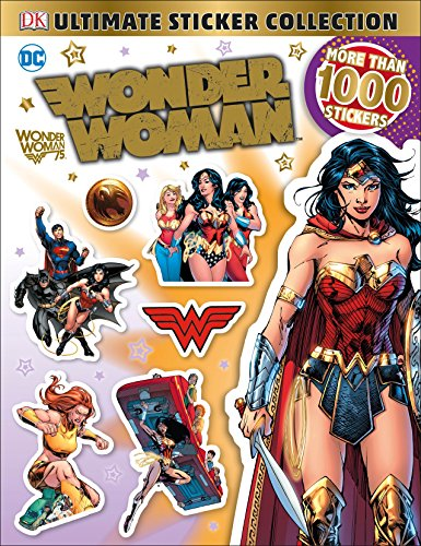 Ultimate Sticker Collection: DC Comics Wonder Woman (Ultimate Sticker Collections)