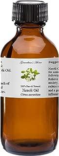 Neroli Essential Oil 4 oz 100% Pure and Natural Therapeutic Grade Grandma's Home