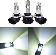 3 PCS 150W LED Super White Headlights Bulbs for Polaris Sportsman 500 800