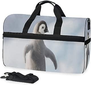 Gym Bag Penguin Reaching Out Duffle Bag Large Sport Casual Fashion Bag for Men Women