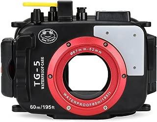 Seafrog WPC-TG5 Waterproof housing case Underwater Diving 195FT/60M Works for Olympus TG-5 Cameras