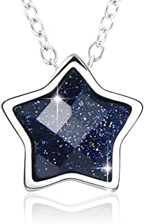 necklace with star pendant