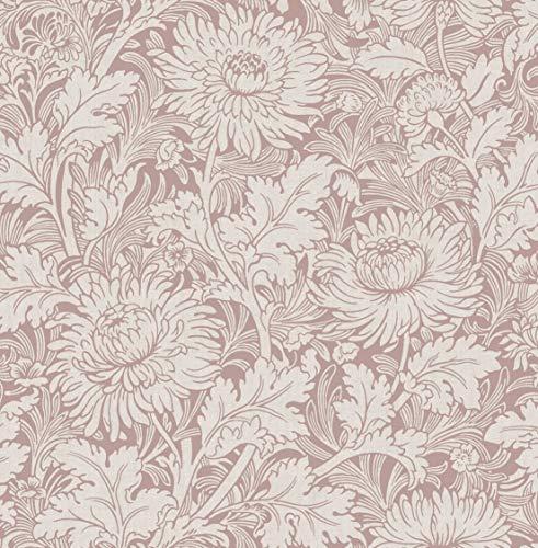 Fine Décor FD42534 Sandringham Bloemen Rose Goud Behang, Roze