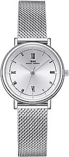 Women Stainless Steel Band Watches Ladies Quartz Wristwatches Waterproof Unique Design Mesh Bracelet Watch Relogio Feminino