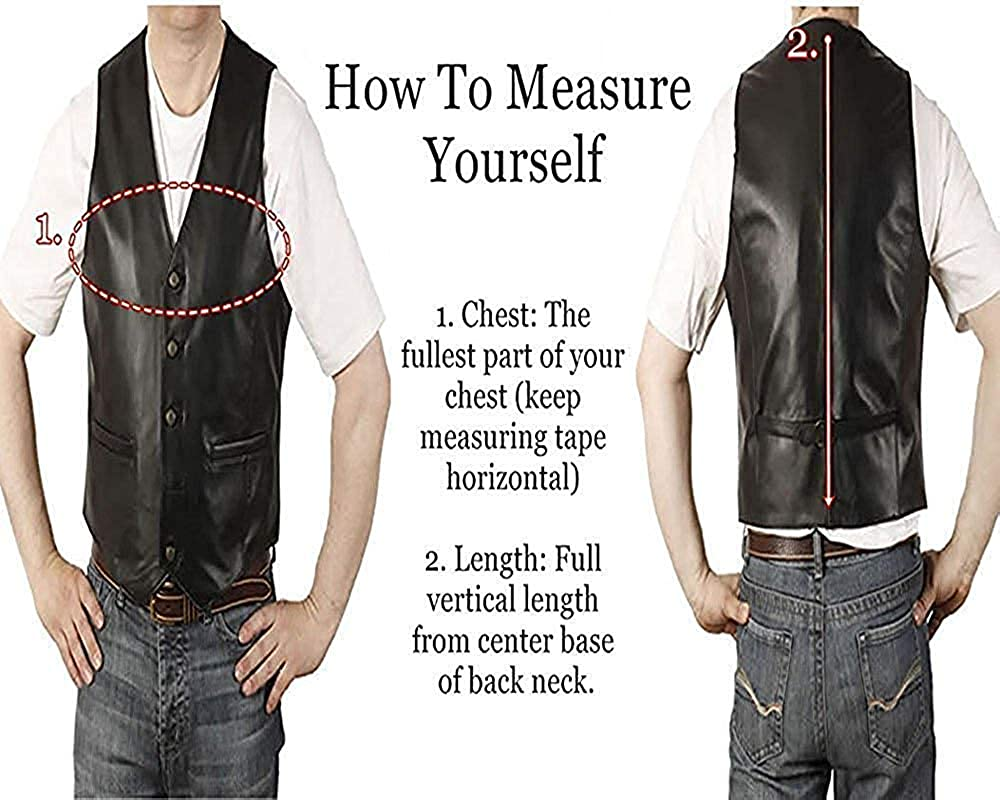 Mens SOA JD Pardo Northern Calii Motor Biker Genuine Real Black Leather Vest