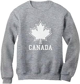 Tstars Canada Day Canada Maple Leaf Canadian Pride Patriotic Women Sweatshirt