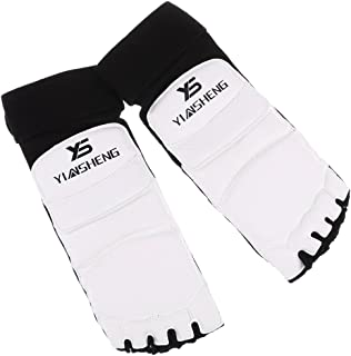 Almohadillas de Karate Farabi Shin Empeine MMA Training Pads Alto El/ástico Kickboxing Entrenamiento Almohadillas