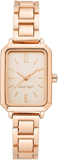 Nine West Women's Analogue Rose Gold Dial Watch (Model - NW-2332)