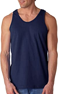 Men's Ultra Cotton Easy Fit Layered U-Neck Tank Top