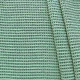 STOFFKONTOR 100% Baumwollstoff Waffel Piqué - Öko-Tex