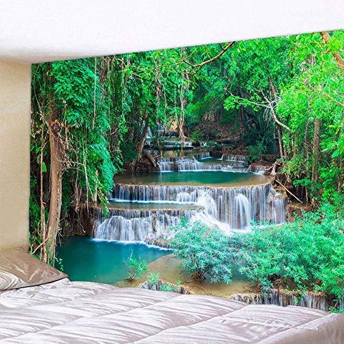 WERT El Hermoso Tapiz de impresión Digital 3D de paisajes Naturales es Adecuado para la decoración de la Sala de Estar del Dormitorio Tapiz de Pared de Fondo A3 180x200cm