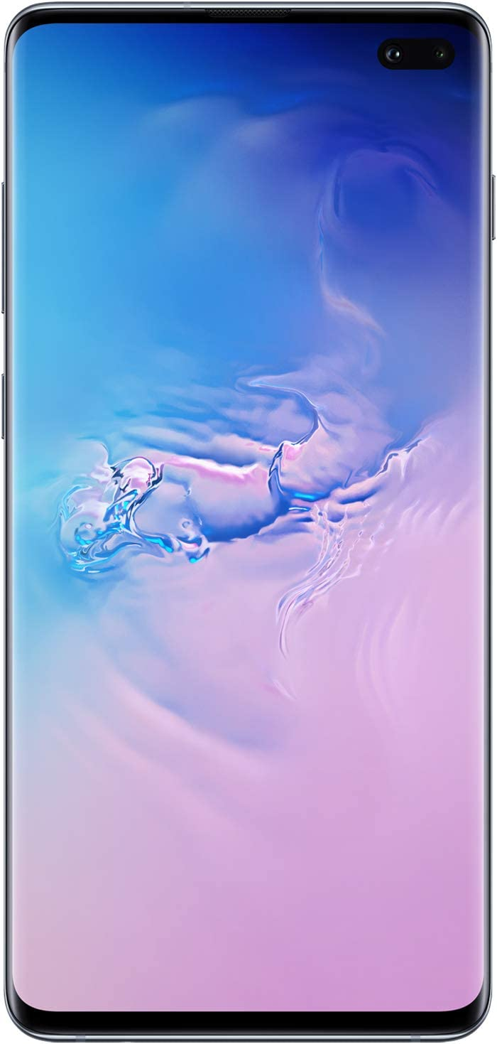 Samsung Galaxy S10Factory Unlocked Android Cell Phone | US Version | 128GBof Storage | Fingerprint ID and Facial Recognition | Long-Lasting Battery | Prism Blue
