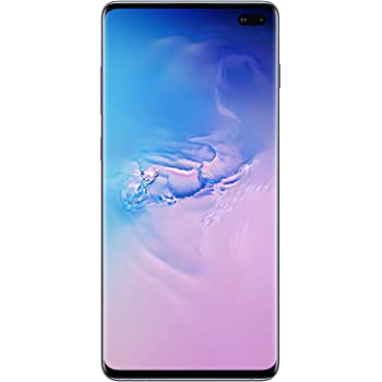 Samsung Galaxy S10 Factory Unlocked Android Cell Phone | US Version | 128GB of Storage | Fingerprint ID and Facial Recognition | Long-Lasting Battery | Prism Blue