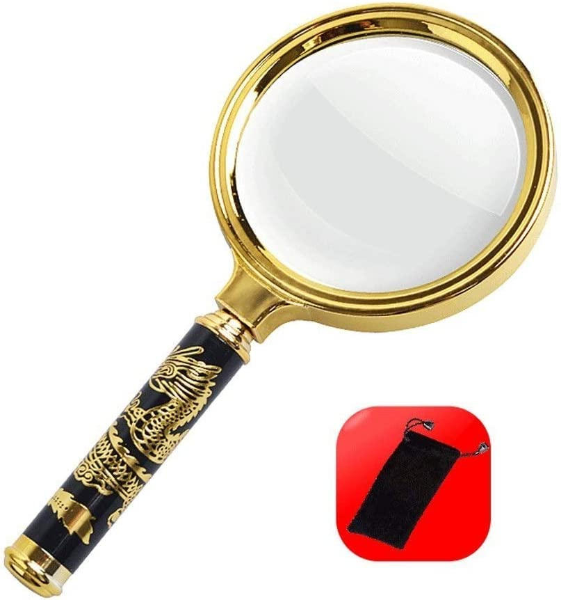 Magnifier for reading Free Shipping Cheap Bargain Sale special price Gift High Handheld Magn Magnification