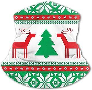 Pañuelo para la Cara de los niños Estilo de Punto de Navidad Figura de Reno gráfico Estrella Copo de Nieve Vacaciones Tema...