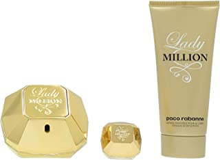 Paco Rabanne Lady Million Privé Lote Agua de Perfume Vaporizador Loción Corporal y Agua de Perfume Vaporizador - 155 ml
