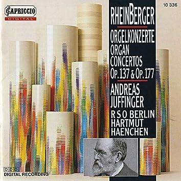 Rheinberger: Organ Concertos Nos. 1 & 2 / Suite for Violin and Organ, Op. 166