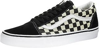 Vans Old Skool Checkerboard, Zapatillas Unisex Adulto