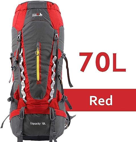 Sac à dos de voyage et de randonnée léger, 70 litres, sac à dos de camping pliant, sac à dos de sport de plein air ultra-léger, sac à dos tactique, sac d'équitation