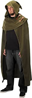 Elven Fantasy Cosplay Cloak in Green,Adult