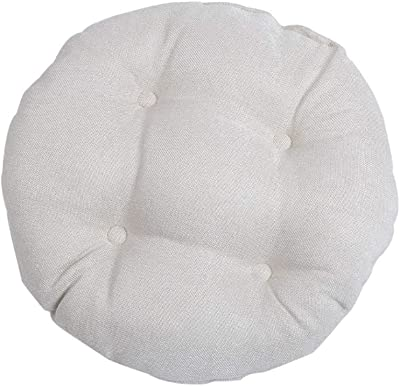 Amazon.com: Cojín de algodón y lino de colores sólidos para ...