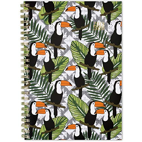 2019-2020 Academic Planner, Cambridge Weekly & Monthly Appointment Book, 5-1/2u0022 x 8-1/2u0022, Small, Toucans Collection (1180-200A)
