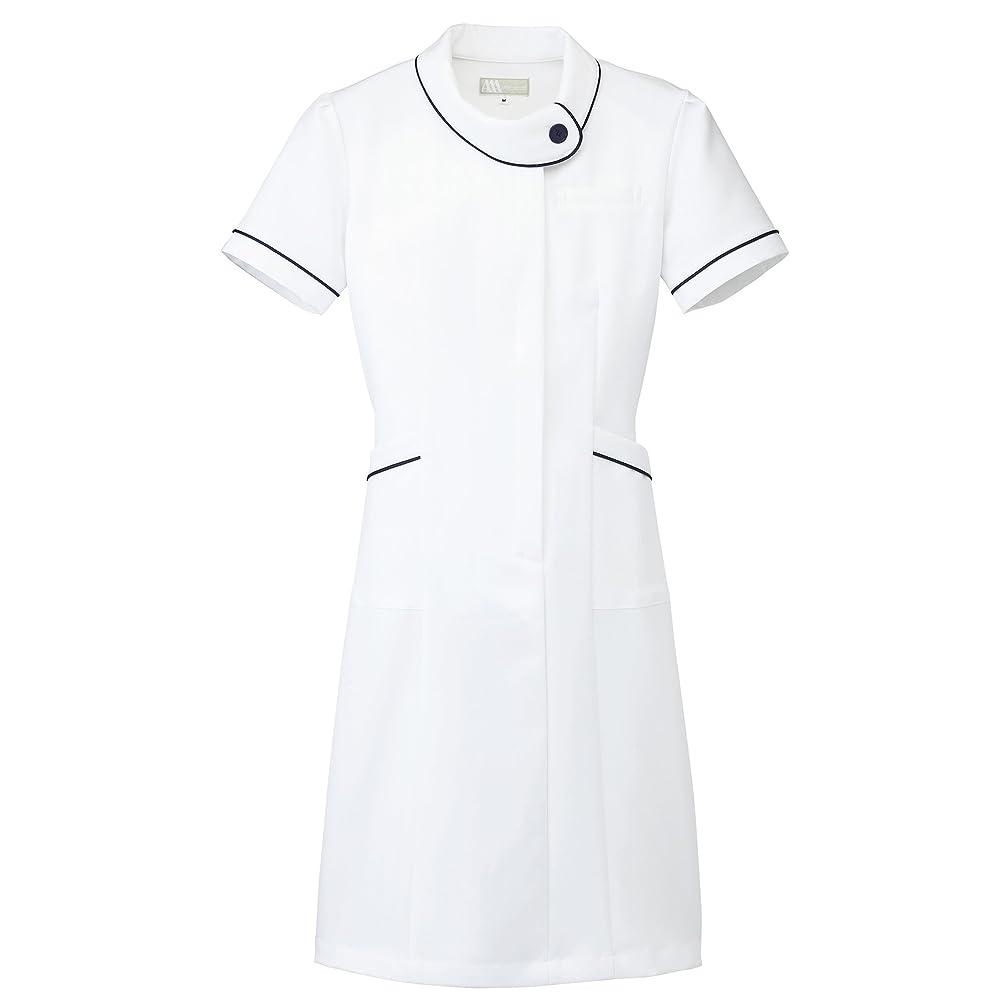 ジャケット反射不快【Lumiere】ルミエール ナース 看護師用 女性用 白衣 診察衣 ワンピース (861110) 【SS~5Lサイズ展開】