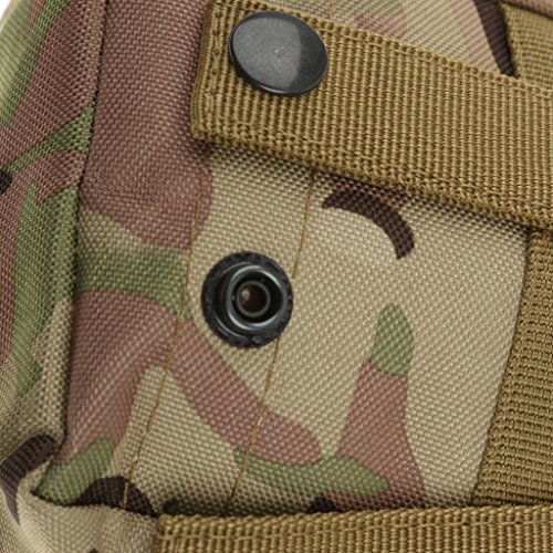Sharplace Mini Pochette Militaire Utilitaire Sac Accessoire de Sport Imperméable - CP Camouflage, Taille Unique